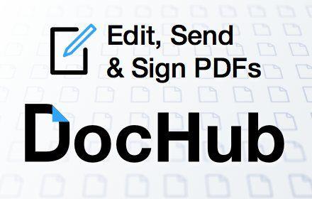 DocHub – Edit, send & sign PDFs online for free